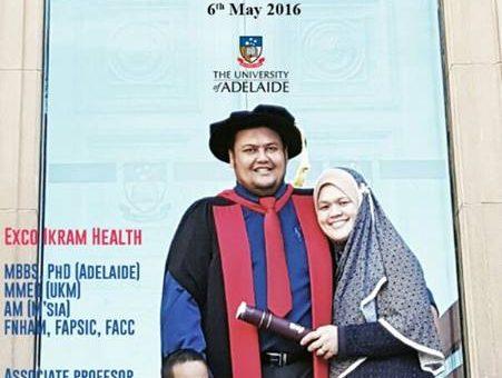 Sekalung Tahniah Prof Madya Dr Azarisman